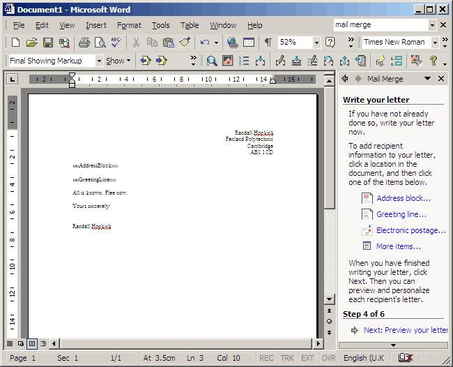 letter format. letter format. business letter